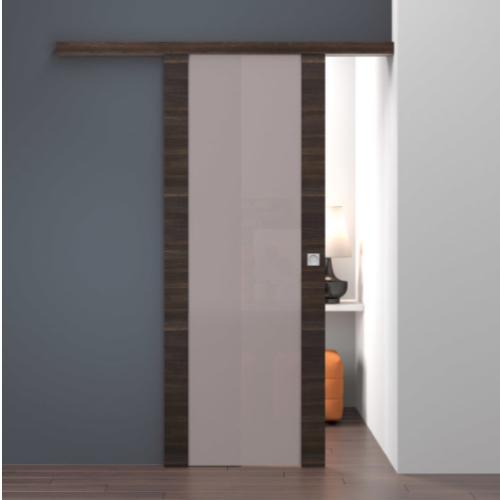 Les portes coulissantes en applique